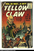 Silver Age (1956-1969):Mystery, The Yellow Claw Group (Atlas, 1956). Move over Fu Manchu, there's anew yellow peril in town! With art by not only Jack Kirb... (Total:3 Comic Books Item)