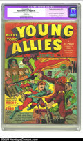 Golden Age (1938-1955):Superhero, Young Allies Comics #1 (Timely, 1941) CGC Apparent GD+ 2.5 Slight (A) Off-white pages. One of the truly great covers from th...
