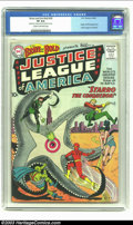 Silver Age (1956-1969):Superhero, The Brave and the Bold #28 Justice League of America (DC, 1960) CGCVF 8.0 Cream to off-white pages. As the first appearance...