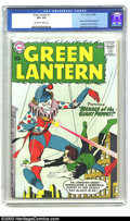 Silver Age (1956-1969):Superhero, Green Lantern #1 (DC, 1960) CGC VF+ 8.5 Off-white to white pages. Flush with the success of the Flash, DC took the lead in t...