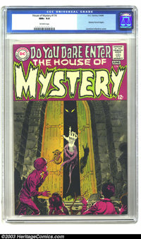 House of Mystery #174 (DC, 1968) CGC NM+ 9.6 Off-white pages. After a long run of Hero for Hire stories, DC decided to c...