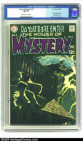 Silver Age (1956-1969):Horror, House of Mystery #179 (DC, 1969) CGC NM 9.4 Off-white to whitepages. At long last, Neal Adams' covers for this title are ge...