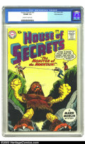 Silver Age (1956-1969):Horror, House of Secrets #33 White Mountain pedigree (DC, 1960) VF/NM 9.0Off-white to white pages. This is just a fantastic image w...