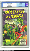Silver Age (1956-1969):Superhero, Mystery in Space #53 White Mountain pedigree (DC, 1959) CGC FN- 5.5 Cream to off-white pages. Adam Strange stories start in ...