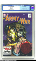 Silver Age (1956-1969):War, Our Army At War #81 (DC, 1962) CGC VF+ 8.5 Off-white pages. Sgt. Rocky of Easy Company is the feature story of this issue, w...