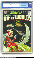 Silver Age (1956-1969):Science Fiction, Showcase #17 Adventures on Other Worlds (Adam Strange) (DC, 1958)CGC FN 6.0 Cream to off-white pages. Looking very much lik...