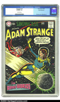 Golden Age (1938-1955):Science Fiction, Showcase #19 Adam Strange - White Mountain pedigree (DC, 1959) CGCVF/NM 9.0 Off-white pages. This beautiful copy features a...