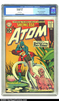 Silver Age (1956-1969):Superhero, Showcase #34 The Atom (DC, 1961) CGC VF/NM 9.0 Off-white pages. This classic issue features the origin and first appearance ...