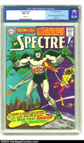 Silver Age (1956-1969):Horror, Showcase #60 The Spectre (DC, 1966) CGC NM+ 9.6 White pages.Straight out of DC's Golden Age, the Spectre finally makes his ...