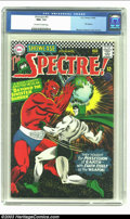 Silver Age (1956-1969):Horror, Showcase #61 The Spectre (DC, 1966) CGC NM+ 9.6 Off-white to whitepages. Murphy Anderson's cover handiwork sparkles on this...