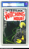 Silver Age (1956-1969):Horror, Witching Hour #1 (DC, 1969) CGC NM 9.4 White pages. This major DChorror series is notable for its Alex Toth art and 2 pages...