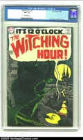 Silver Age (1956-1969):Horror, Witching Hour #1 (DC, 1969) CGC NM- 9.2 Off-white pages. A-1 artists Neal Adams and Alex Toth ensured the quality of this pr...