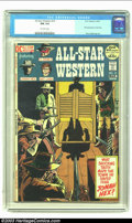 Bronze Age (1970-1979):Western, All Star Western #10 (DC, 1972) CGC NM 9.4 Off-white pages. The demand for this issue, which features the first appearance o...