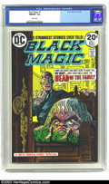 Bronze Age (1970-1979):Horror, Black Magic #1 (DC, 1973) CGC NM/MT 9.8 White pages. This is areprint issue of Jack Kirby and Joe Simon stories, which you ...