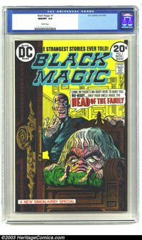 Black Magic #1 (DC, 1973) CGC NM/MT 9.8 White pages. This is a reprint issue of Jack Kirby and Joe Simon stories, which...