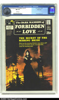 Bronze Age (1970-1979):Romance, Dark Mansion of Forbidden Love #1 Pacific Coast pedigree (DC, 1971)CGC NM 9.4 White pages. This thick 70s comic is a favori...