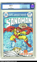 Bronze Age (1970-1979):Superhero, Sandman #1 (DC, 1974) CGC MINT 9.9 White pages. Jack Kirby dustsoff another old DC character from his Golden Age past for h...