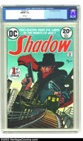 Bronze Age (1970-1979):Miscellaneous, The Shadow #1 (DC, 1973) CGC NM/MT 9.8 White pages. Everyone'sfavorite pulp hero comes back to comics in this Bronze Age re...