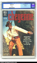 Silver Age (1956-1969):Western, Cheyenne #15 File Copy (Dell, 1960) CGC NM+ 9.6 Off-white pages. Terrific photo cover featuring big Clint Walker as TV's Che...