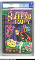 Golden Age (1938-1955):Cartoon Character, Dell Giant - Sleeping Beauty #1 File Copy (Dell, 1959) CGC NM+ 9.6Off-white to white pages. Amazingly, this Dell Giant is...