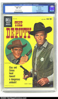 Silver Age (1956-1969):Western, Four Color #1077 The Deputy File Copy (Dell, 1960) CGC NM+ 9.6Off-white to white pages. The Deputy (first issue) photo cove...