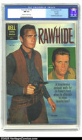 Silver Age (1956-1969):Western, Four Color #1160 Rawhide File Copy (Dell, 1961) CGC NM 9.4Off-white to white pages. Rawhide photo cover from this ultrapop...