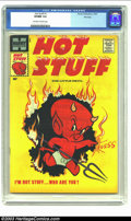 Silver Age (1956-1969):Cartoon Character, Hot Stuff #1 File Copy (Harvey, 1957) CGC VF/NM 9.0 Off-white to white pages. Unlike most of the other Harvey funny book cha...