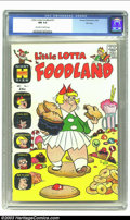 Silver Age (1956-1969):Cartoon Character, Little Lotta Foodland #1 File Copy (Harvey, 1963) CGC NM 9.4 Off-white to white pages. Little Lotta required more space than...
