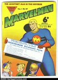 Silver Age (1956-1969):Alternative/Underground, Marvelman Group (L. Miller & Son, 1960). A cool batch of theBritish comic that later turned into the character Miracleman! ...(Total: 4 Comic Books Item)