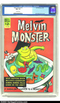 Silver Age (1956-1969):Humor, Melvin Monster #2 (Dell, 1965) CGC NM+ 9.6 Off-white pages. The versatile John Stanley, whose works include such diverse tit...