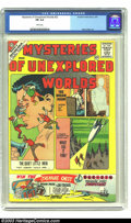 Silver Age (1956-1969):Science Fiction, Mysteries of Unexplored Worlds #23 (Charlton, 1961) CGC FN 6.0 White pages. The cover to this issue features art by Steve Di...