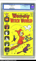 Silver Age (1956-1969):Cartoon Character, Wendy Witch World #1 File Copy (Harvey, 1961) CGC NM- 9.2 Cream to off-white pages. Harvey books are hot, hot, hot! It is ab...