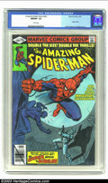 Modern Age (1980-Present):Superhero, Amazing Spider-Man #200 (Marvel, 1980) CGC NM/MT 9.8 White pages.The 200th Anniversary issue retells the Webslinger's origi...