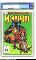 Modern Age (1980-Present):Superhero, Wolverine (limited series) #4 (Marvel, 1982) NM/MT 9.8 Off-white towhite pages . Here's a superb copy from this popular cha...