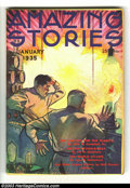 Pulps:Science Fiction, Amazing Stories Group (Ziff-Davis, 1934-1947) Condition: AverageVG+. This is an absolutely beautiful group lot of Amazing...(Total: 37 items Item)
