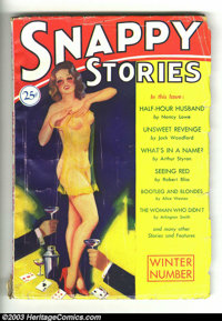 """Good Girl Pulps Group (Various, 1929-1930). Here is a group lot of 8 pulps, all of the """"good girl"""" or """"pi..."""