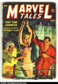 Pulps:Horror, Marvel Stories/Tales (Pulp) Group (Red Circle, 1939) Condition: Average VG. This is a wonderful group of 6 early pulps, all ... (Total: 6 items Item)