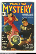 Pulps:Horror, Mystery Pulps Group Yakima pedigree (Various, 1941). The Yakimapedigree consists of many of the highest grade pulps ever un...(Total: 4 items Item)