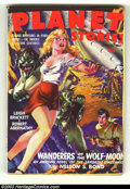 "Pulps:Science Fiction, Planet Stories Group (Fiction House, 1944) Condition: Average VG.Just as Planet Comics are known for ""Good Girl"" and ""H... (Total: 6items Item)"