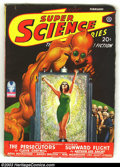 Pulps:Science Fiction, Super Science Stories Group (Popular, 1941) Condition: Average VG+.Here is a terrific set of six pulps in well above averag... (Total:6 items Item)
