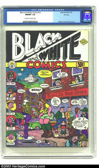 Black And White Comics #nn Don Donahue File Copy (Apex Novelties, 1973) CGC NM/MT 9.8 Off-white to white pages. An all C...
