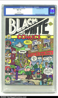 Black And White Comics #nn (Apex Novelties, 1973) CGC NM+ 9.6 Off-white pages. A really nice copy of this all Crumb comi...