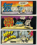 Silver Age (1956-1969):Alternative/Underground, Fritz The Cat Group Of Three (Ballantine Books, 1969) AverageCondition: FN. Here is a set of the three small books publishe...(Total: 3 Comic Books Item)