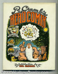 Silver Age (1956-1969):Alternative/Underground, R. Crumb's Head Comix Hardcover with Dust Jacket (Viking Press,The, 1968) Condition: Book (VF), Dust Jacket (VG). This is t...