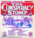 """Silver Age (1956-1969):Alternative/Underground, The Conspiracy Stomp - Memorabilia Poster, """"A Benefit for theChicago Eight"""" (1969). Robert Crumb contributes art on thi..."""