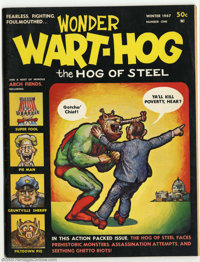 Wonder Wart-Hog #1 & #2 (Millar Publishing, 1967) Condition: FN+. This lot contains both issues of Shelton's ear...