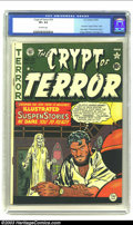 Golden Age (1938-1955):Horror, Crypt of Terror #19 (EC, 1950) CGC VF+ 8.5 Off-white pages. Thistitle would give way to Tales From the Crypt after just...