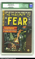 Golden Age (1938-1955):Horror, The Haunt of Fear #15 (#1) (EC, 1950) CGC Qualified VG/FN 5.0 Creamto off-white pages. The first appearance of the Old Witc...