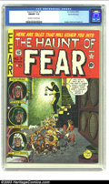 Golden Age (1938-1955):Horror, The Haunt of Fear #7 Gaines File pedigree (EC, 1951) CGC NM/MT 9.8Off-white to white pages. One has to wonder why Johnny Cr...