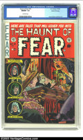 Golden Age (1938-1955):Horror, The Haunt of Fear #15 Gaines File pedigree 7/12 (EC, 1952) CGCNM/MT 9.8 Off-white pages. Ghastly Graham Ingels's inimitable...